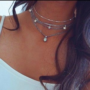 🆕 Layered Stars Necklace